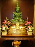 buddha jade thailand Royaltyfri Fotografi