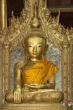 Buddha - Jumping Cat Monastery - Myanmar (Burma) stock photography