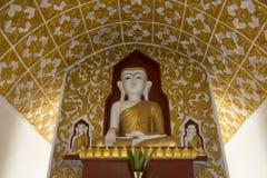 Buddha - Kakku tempel - Shan påstår - Myanmar Royaltyfria Bilder