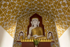 Buddha - Kakku Temple - Shan State - Myanmar. Small shrine with Buddha images within the Kakku Buddhist Temple in Shan State in Myanmar (Burma). This ancient royalty free stock images