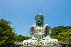 Buddha in Kamakura Stock Photo