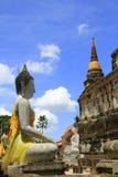 Buddha kamienna statua Fotografia Royalty Free