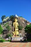 Buddha at Khao Ngoo rock park Ratchaburi, Thailand Stock Photography
