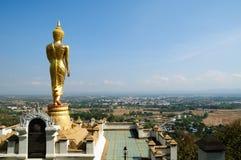 buddha khao noi phra Thailand wat obraz royalty free