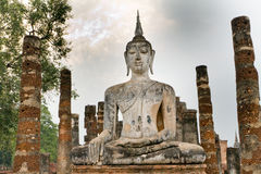 Buddha kmher statue Stock Photography