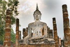 Buddha kmher statue Stock Photography