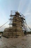 Buddha konstrukcja Zdjęcie Royalty Free