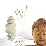 buddha kontemplacja obraz stock