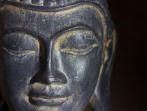 Buddha-Kopf Lizenzfreies Stockfoto