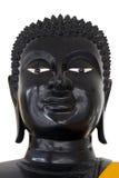 Buddha-Kopf auf Weiß Stockbilder