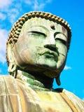 Buddha-Kopf in Kamakura Stockfoto