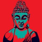 Buddha-Kopf stock abbildung