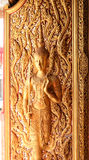 Buddha-Kunsttür stockbild