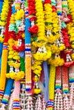 buddha kwiatu tajlandzki tradycyjny Obraz Stock