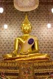 buddha kyrklig bild Arkivfoto