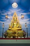 buddha kyrklig staty Royaltyfria Bilder