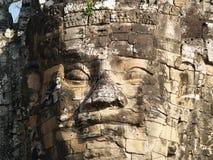 Buddha lächelt an Ihnen stockbild