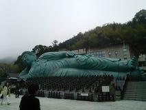 buddha läggande Royaltyfria Bilder