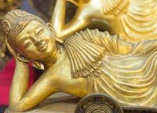 Buddha lag ausdrücken herein an gelegen lizenzfreies stockfoto