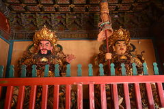 Buddha in Lama Temple Royalty Free Stock Images