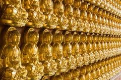 Buddha lampasami jest Zdjęcia Stock