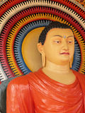 buddha lankan sri arkivfoto