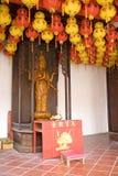 Buddha and Lanterns Royalty Free Stock Photo