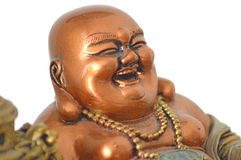 Buddha laughs Stock Images