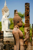 Buddha levantesi in piedi in Sukhotai, Tailandia Fotografia Stock Libera da Diritti