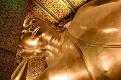 buddha ligga Arkivfoto