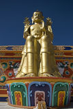 Buddha, Likir, Ladakh, India royalty free stock photography