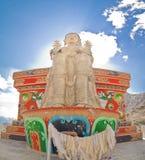 buddha likir monasteru statua Obrazy Royalty Free