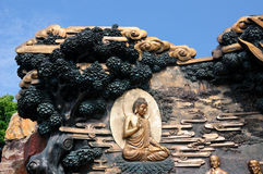 Buddha at Lingshan Scenic Area Wuxi Royalty Free Stock Photography