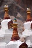 buddha litet tempel Fotografering för Bildbyråer