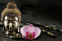 buddha livstid fortfarande royaltyfri fotografi