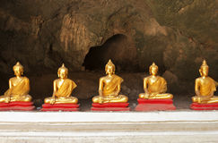 Buddha, located in Cave Stock Photos