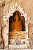 Buddha, located in Cave Stock Photo