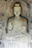The buddha of Longmen Grottoes in china Royalty Free Stock Photos