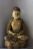 Buddha in Lotosstellung Lizenzfreies Stockbild