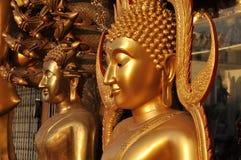 Buddha mässingsflankhuvuddel Royaltyfria Bilder