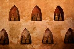 buddha mała statui ściana Obraz Royalty Free