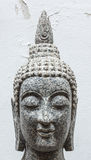 Buddha made of marble in thailand Royalty Free Stock Photography