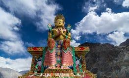 Buddha Maitreya Statue Stock Images