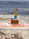 Buddha  Maitreya statue in Nubra valley Royalty Free Stock Images