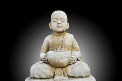 Buddha make meditation. Peaceful concept stock photos