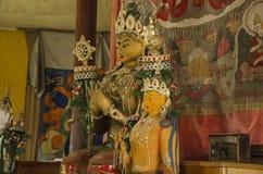 Buddha Manjushri. Manjushri Buddha statue in the temple Stock Images