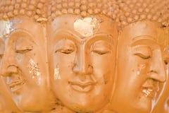 Buddha many face Close-up Stock Photo