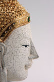 Buddha mask profile Royalty Free Stock Images