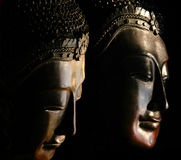 Buddha Masks Royalty Free Stock Photography