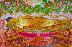 buddha matris ögonblick Royaltyfria Foton